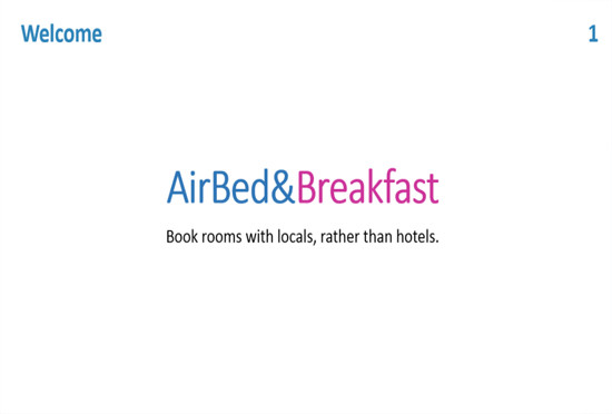 Pitch Deck Airbnb Home Image Ideen
